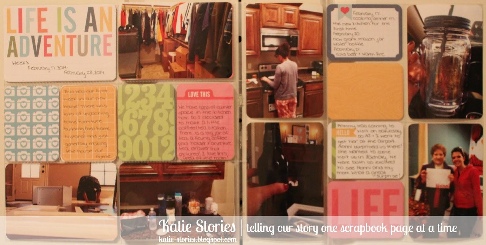 Katie Stories {Scrapbook + Crafting Blog}: Project Life ...