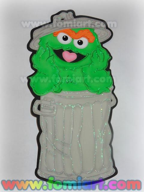 Decoración en foamy para fiestas infantiles