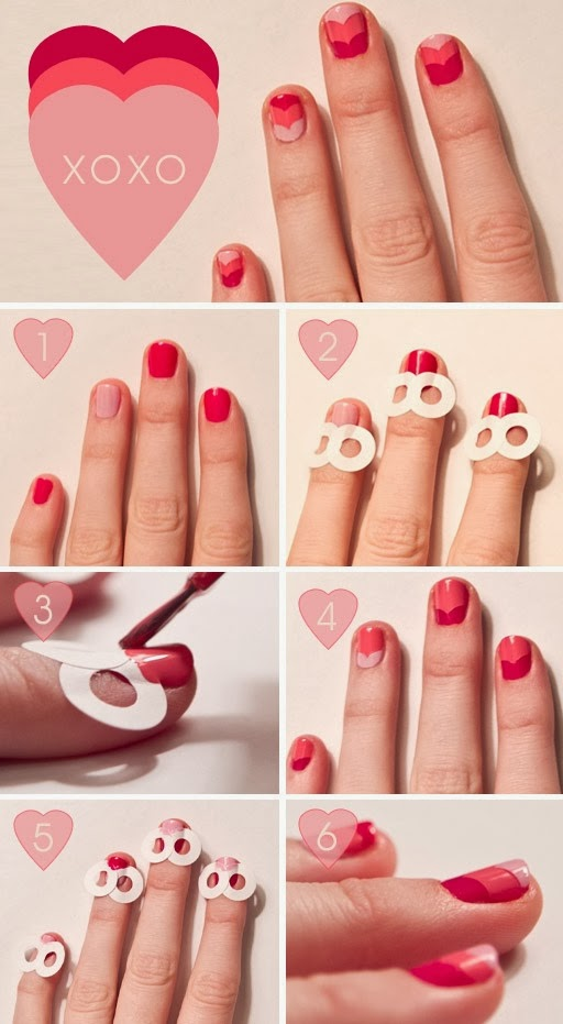 pinterest valentines nails
