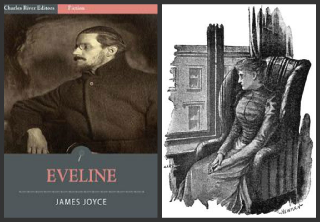 a comparison of eveline by james joyce and pita delicious by zz packer