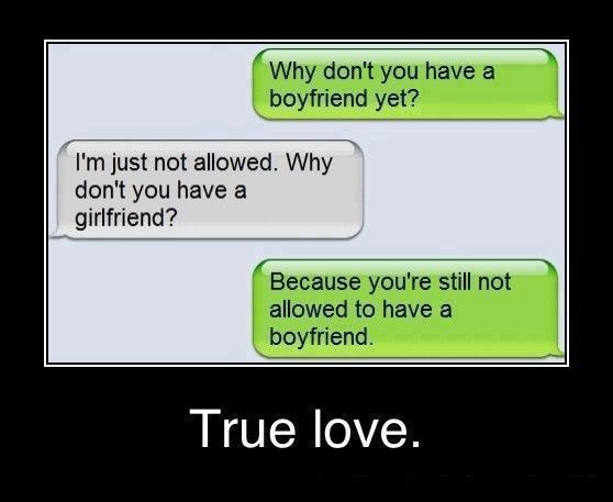 Boyfriend dating another girl