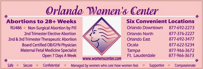 Orlando abortion clinic advertises abortions past 28 weeks.