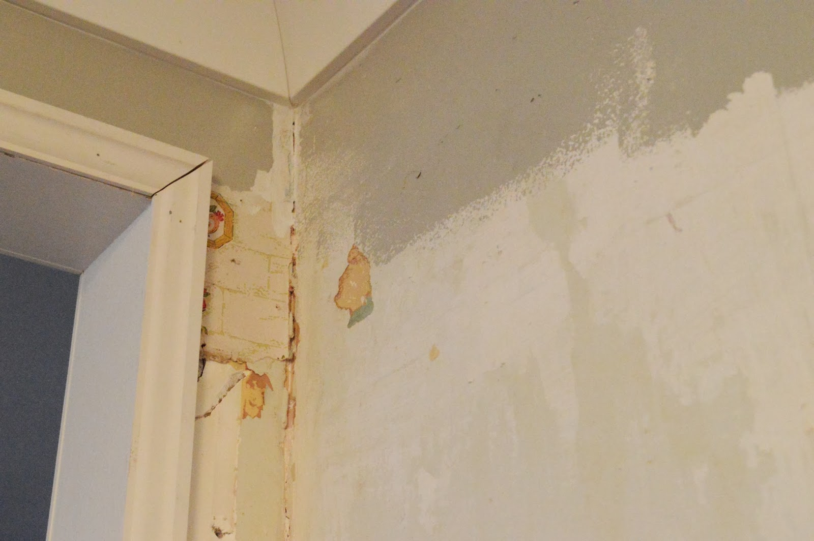 Sylvan Park Life Kitchen Renovation How To Repair Plaster Walls