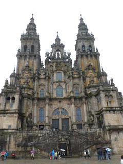 Santiago de Compostela Cathedral on the Camino de Santiago