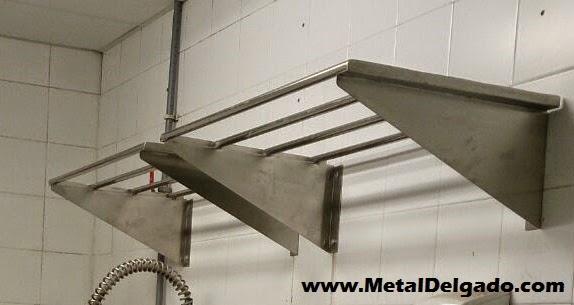 Acero inoxidable tenerife estantes tubo acero inoxidable for Mesa cocina tenerife