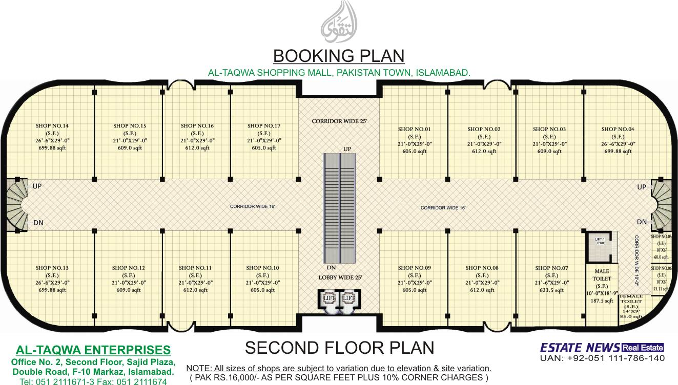 Building Plans Shopping Center