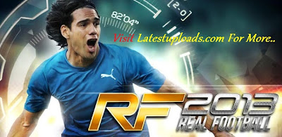 Real Football 2013 HD Android Cracked Full APK + SD Card Data Download