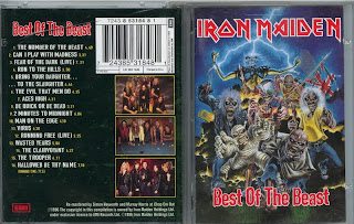 Iron Maiden – Best Of The Beast (1996, CD) - Discogs