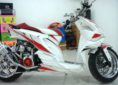 foto honda beat modifikasi