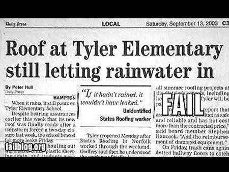 funny newspaper headlines. Funny Newspaper Headlines: quot;If