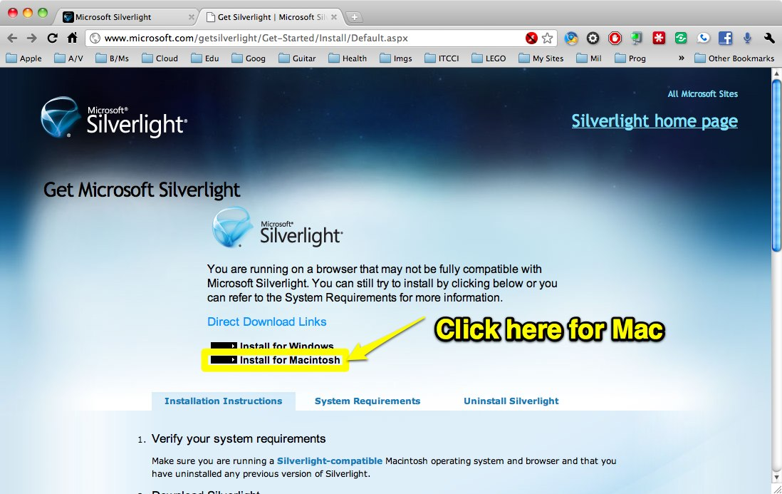 Silverlight Download