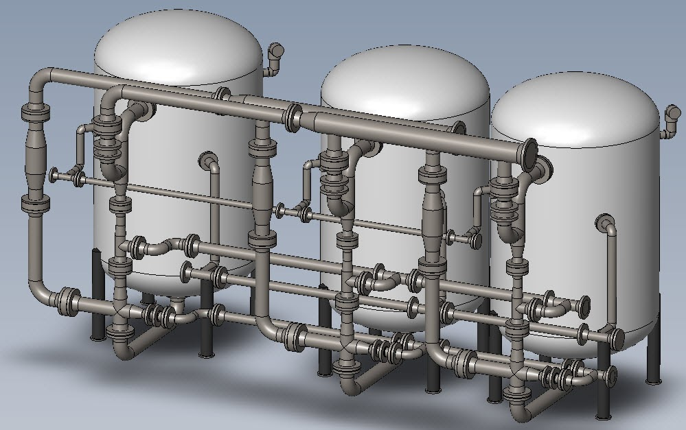 Res Kem Blog 3d Cad Drawings For Condensate Polishers For