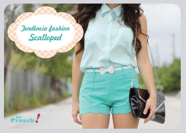 tendência scalloped crop clothes