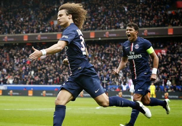 Liga Perancis : PSG 4-2 Evian TG