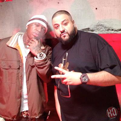 "dj khaled lil wayne future ti ace hood models bottles video shoot7 Photo Updates: Behind The Scene On Set Of DJ Khaled, Lil Wayne, Future, T.I. and Ace Hood's ""Models and Bottles"" Video Shoot"