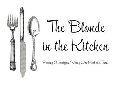 The Blonde in the Kitchen