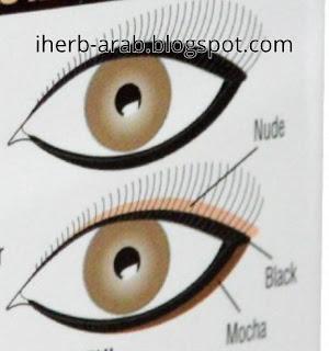 طريقة ايلاينر عيون