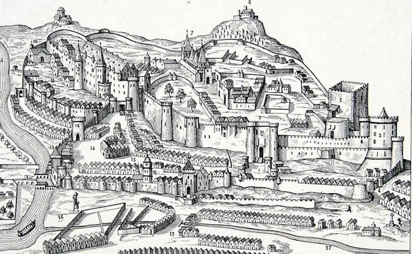 Mon projet fou: Diorama du Château de Loches Loches_carte_detail