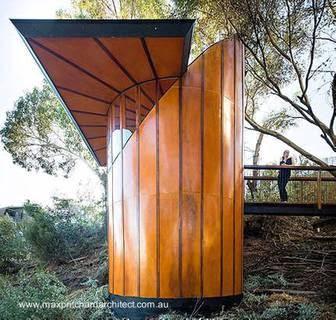 Casa del árbol publicada en el sitio web