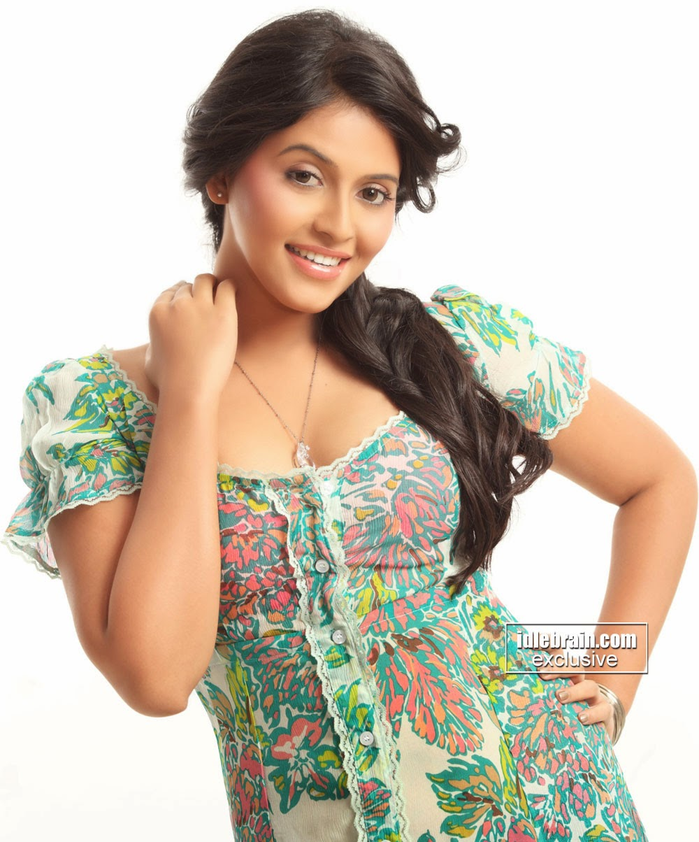 Anjali sexy dress
