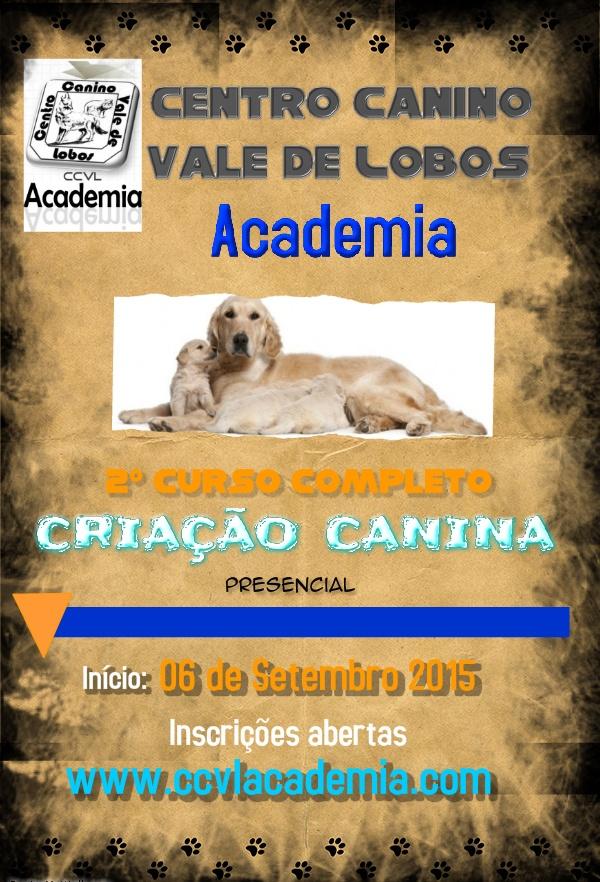 2º Curso Completo de Criação Canina (presencial)