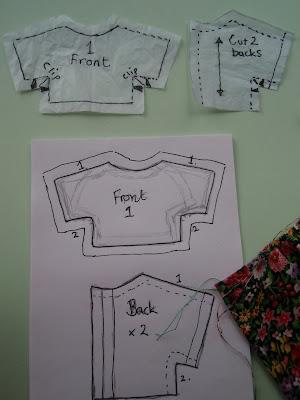 Pattern preparation