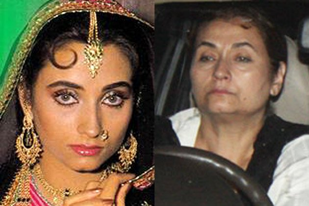 Salma Agha than and now