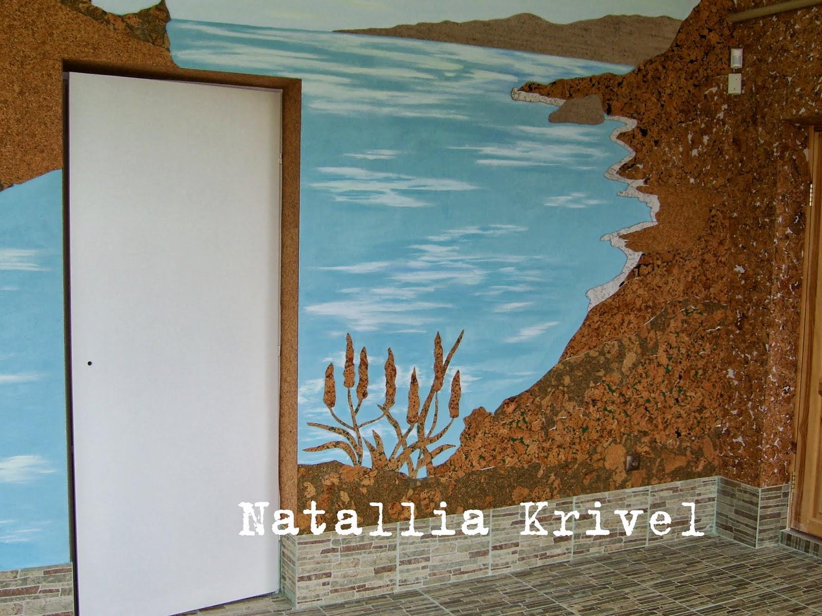 Пробковое панно на стену своими руками