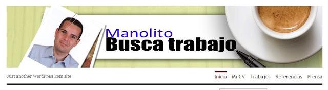 CV original de Manuel Rodríguez, Manolito busca el trabajo
