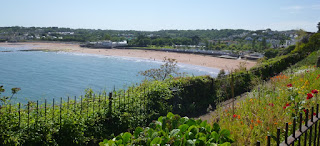 A view of the nice seaside resort of Goodrington Sands, Paignton, Devon