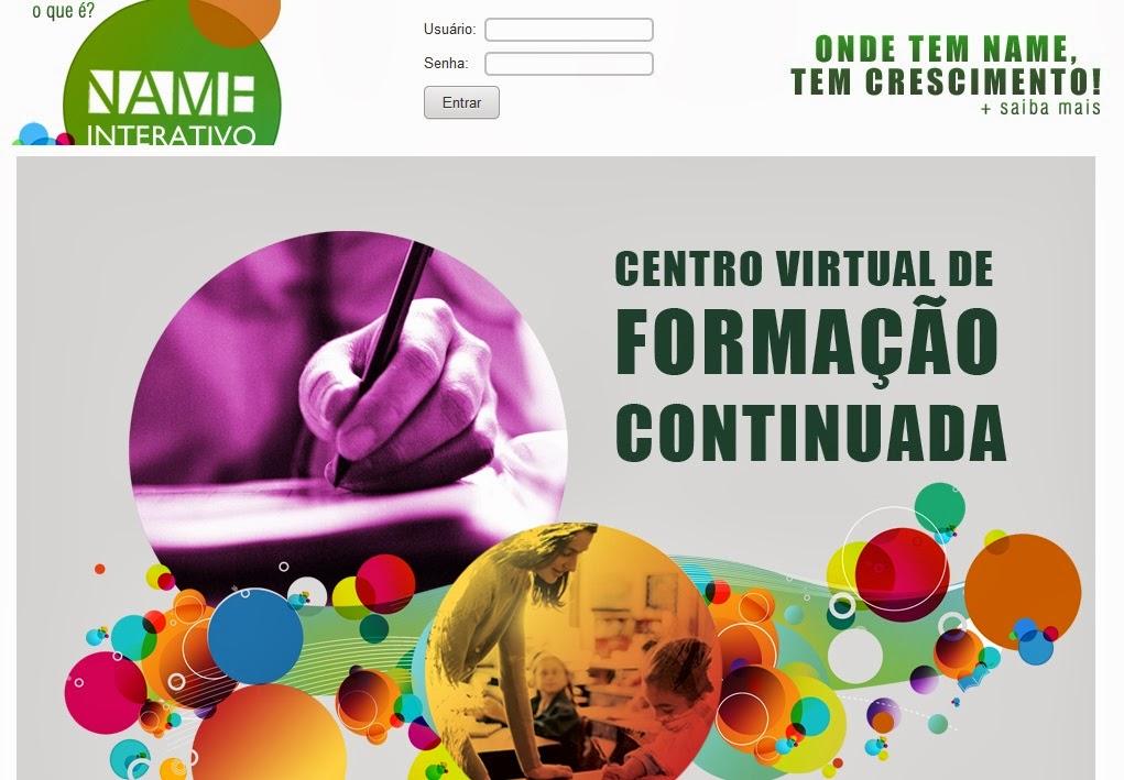 Centro Virtual de FORMAÇÃO CONTINUADA