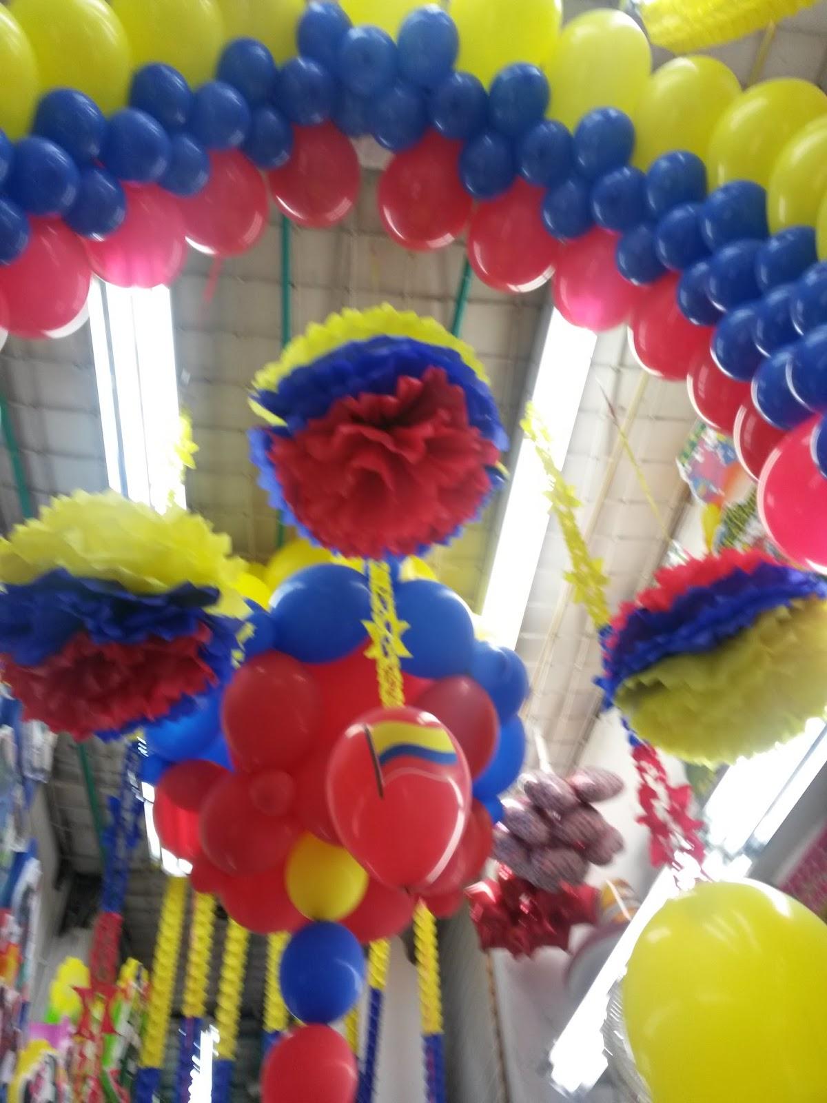 Fiestas y detalles decoracion seleccion colombia - Bombas de fiesta ...
