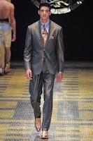 мъжки костюм метално тъмносиво