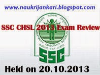 ssc chsl exam review