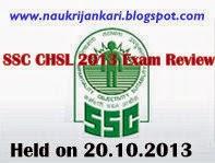 ssc chsl exam review