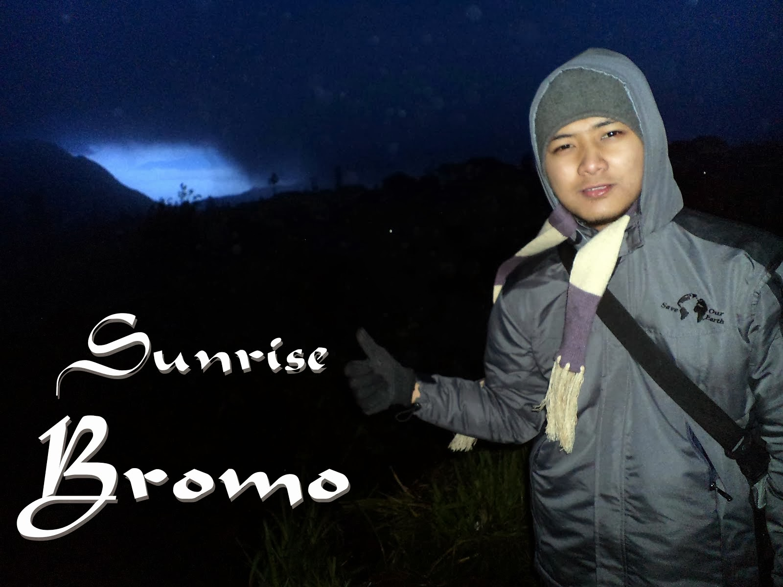 Sunrise in Bromo