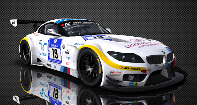 BMW Z4 GT3 in rFactor