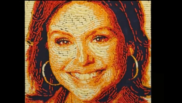 Rachael Ray Cheeto portrait