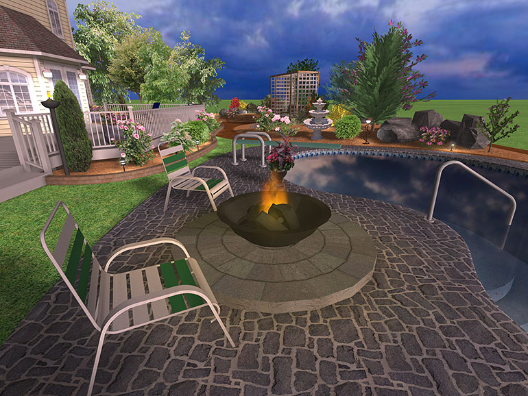 Swimming Pool Landscape Design Software