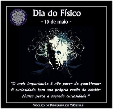 19 de maio - Dia do Físico
