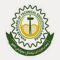Punjab Board of Technical Education Date Sheet 2016