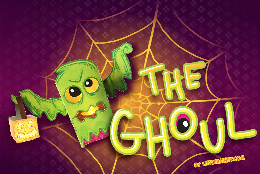 The Ghoul Paper Toy