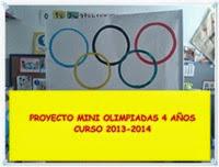 """Proyecto """"Mini Olimpiadas"""""""