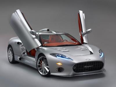2009 Spyker C8 Aileron front side