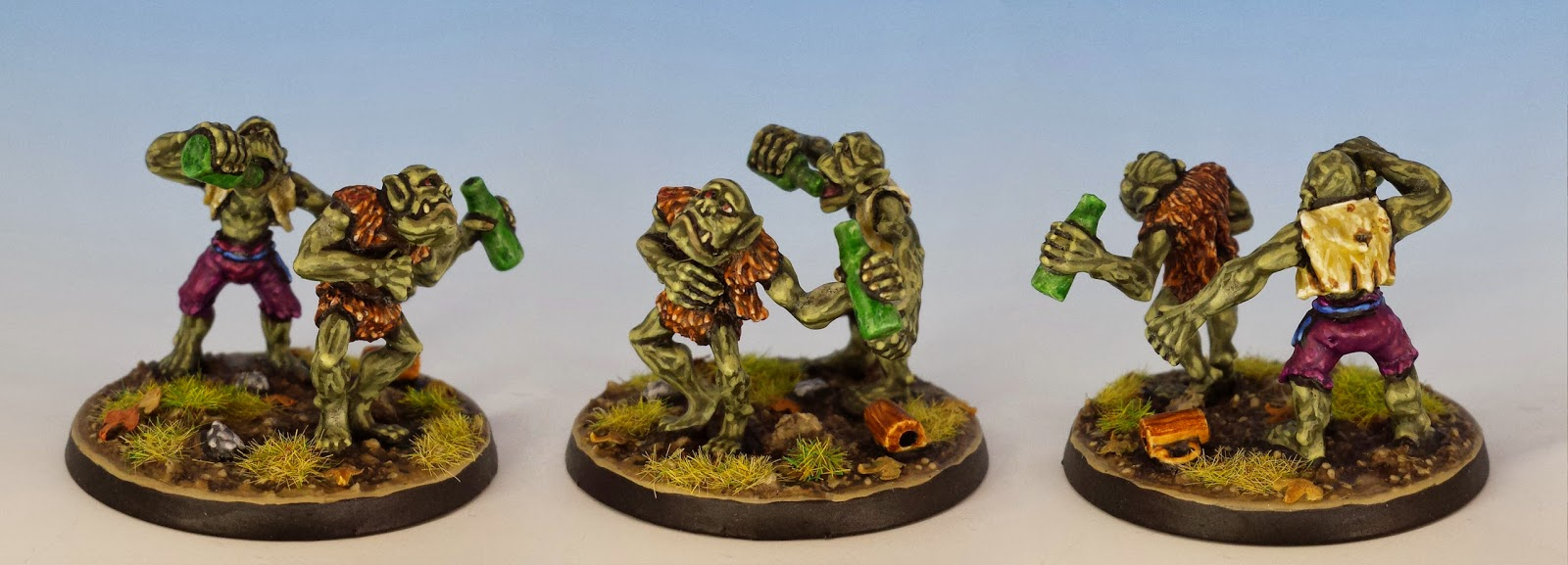 Orc Villagers C46, Citadel Miniatures (1988, sculpted by Trish Carden)