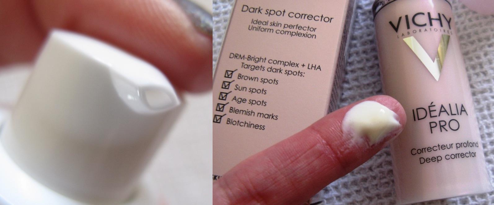 Girlwiththeskew-Earring: Vichy Idealia Pro Dark Spot Corrector