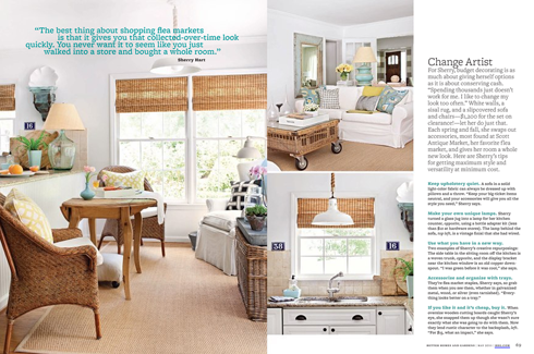 Peach And Pearl Better Homes Gardens May Issue