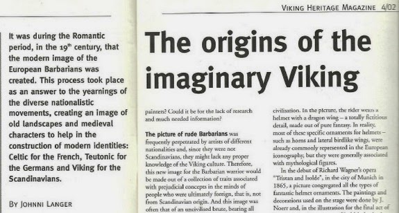 https://www.academia.edu/390901/THE_ORIGINS_OF_THE_IMAGINARY_VIKING_VIKING_HERITAGE_4_2002_GOTLAND_UNIVERSITY_CENTRE_FOR_BALTIC_STUDIES_VISBY