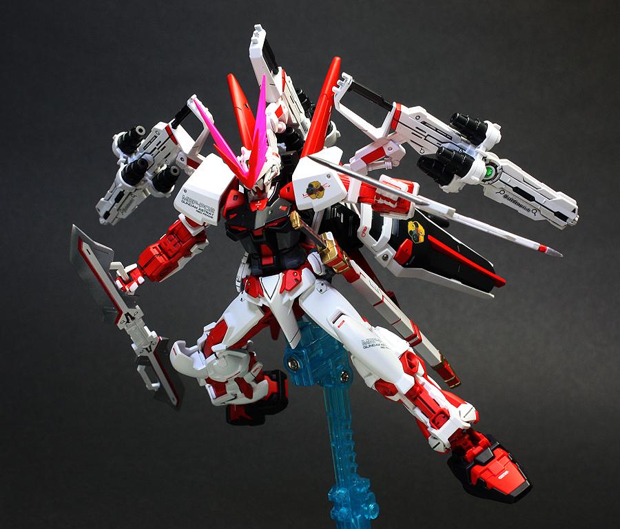 HG 1/144 MBF-P02 Gundam Astray Red Dragon – Customized Build ...