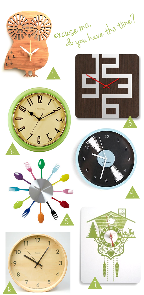Modern Wall Clocks